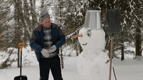 Лепите снеговиков правильно!