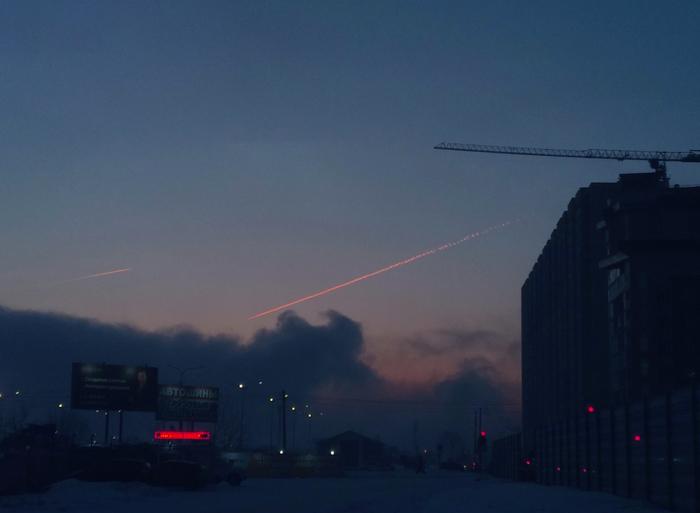Пара утренних фото. Енисей дышит Енисей, Рассвет, Пейзаж, Пар, Туман