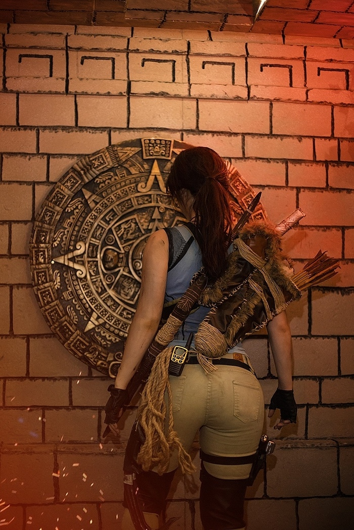 Cosplay Lara Croft (Shadow of the Tomb Raider) [Анастасия Зеленова] Лара Крофт, Shadow of the Tomb Raider, Tomb raider, Анастасия Зеленова, Длиннопост