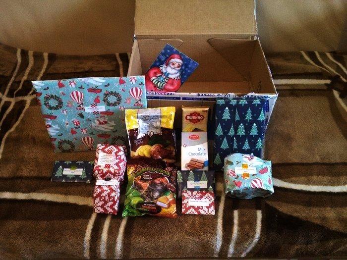 Праздник к нам приходит! Обмен подарками, Длиннопост, Новогодний обмен подарками, Тайный Санта, Отчет по обмену подарками