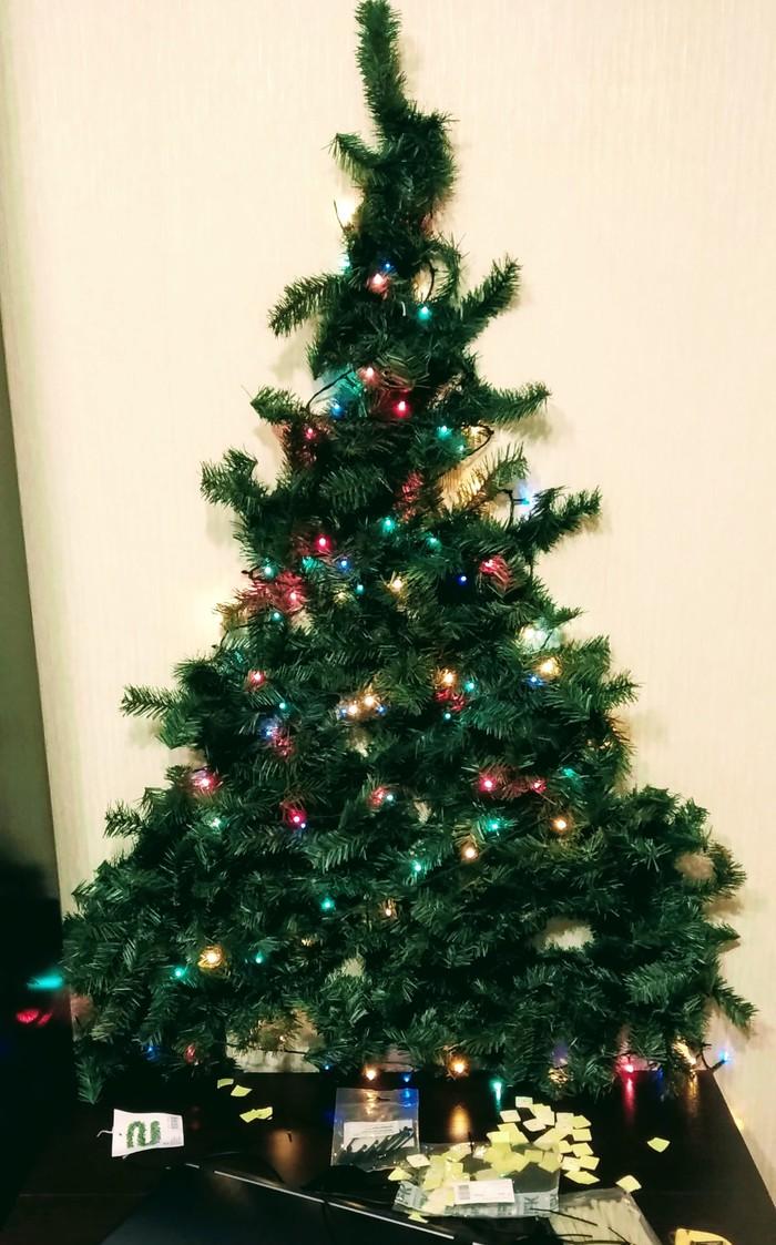 Новогодняя ёлка 2.0 Новогодняя елка, Своими руками, Праздник к нам приходит!, Новый Год, Длиннопост