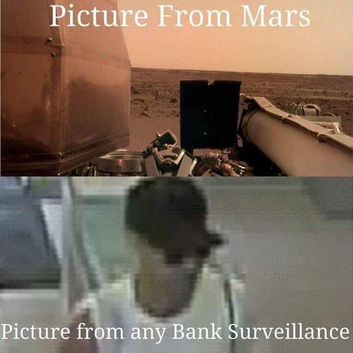 Вот как так то? Как-Так то!, Камера наблюдения, Марс, Качество