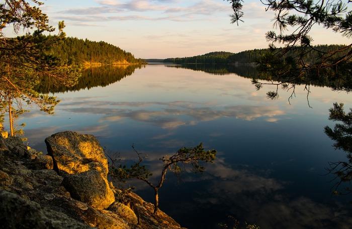 Воспоминания о лете Фотография, Природа, Финляндия, Озеро, Бабочка, Путешествия, Лето, Туризм, Длиннопост