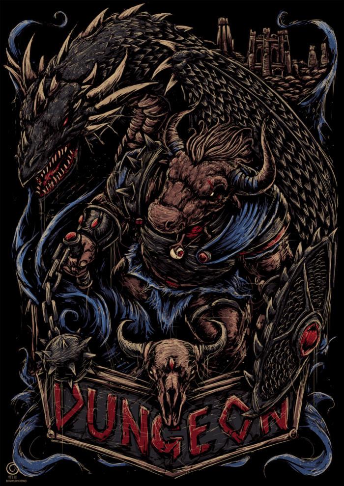 Темница Подземелье, Темница, Герои меча и магии, HOMM III, Длиннопост, Игры, Рисунок, Цифровой рисунок