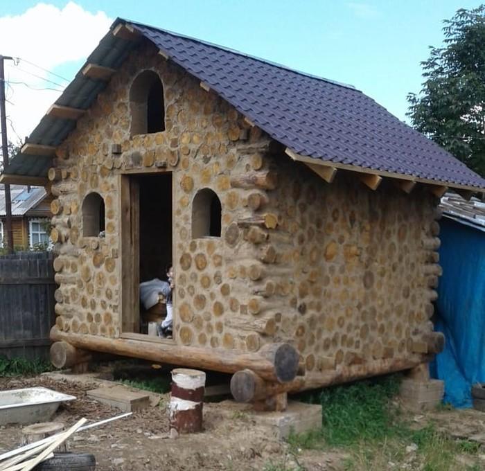 Деревянный дом с четырьмя гвоздями. Дом, Кулибин, Работа с деревом, Столярка, Длиннопост