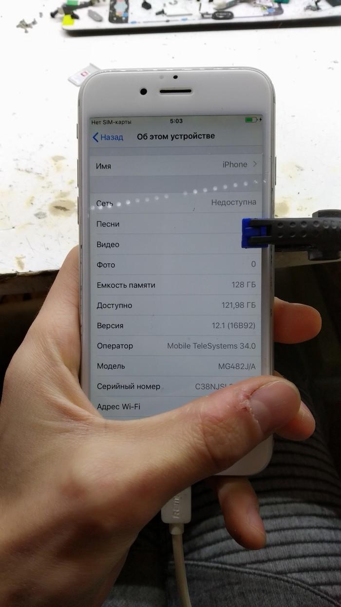 Увеличение памяти iphone 6 до 128gb Nand, 128gb, Увеличение памяти, Длиннопост, Технопрон, Iphone