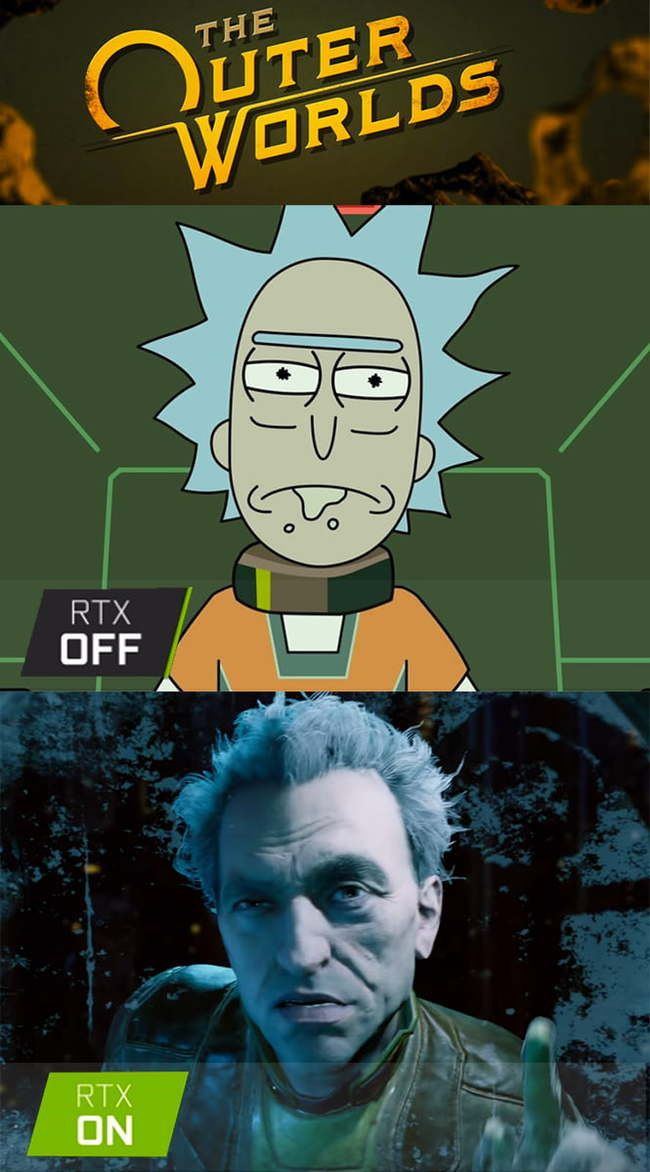 Rtx Off and On