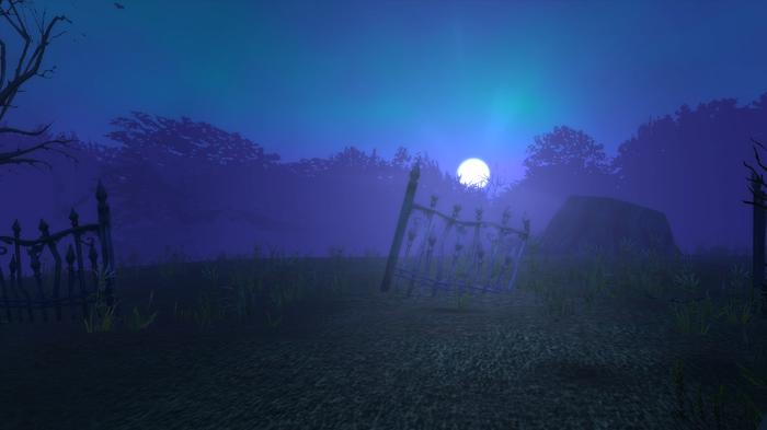 Пейзаж World Of Warcraft