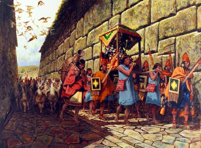 Инки Инки, Древние Инки, Империя, Южная Америка, История, Длиннопост