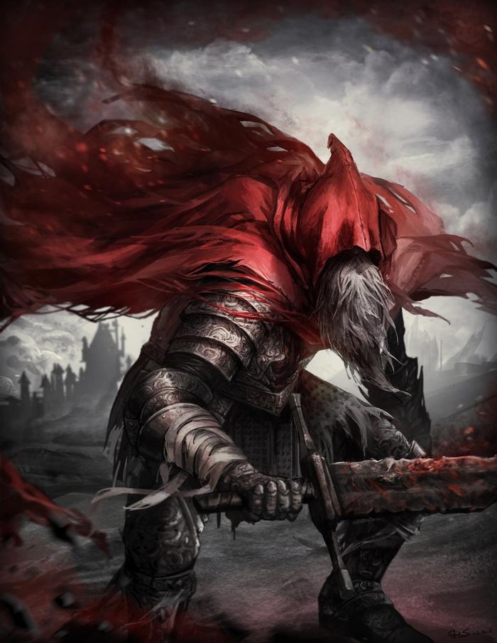 Dark souls Dark Souls, Dark Souls 3, Игры, Арт, Рисунок, Fire Keeper, Длиннопост