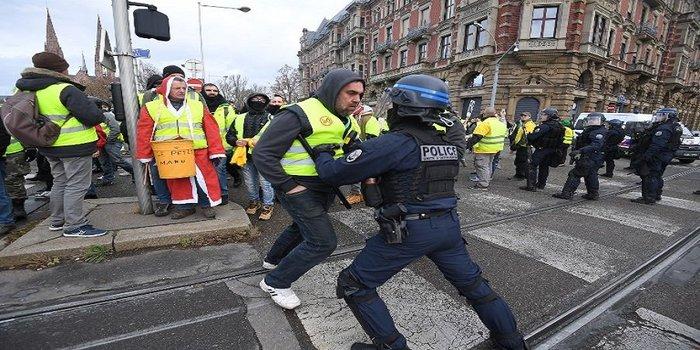 Париж. Продолжение протестов. Восьмое декабря. Париж, Протест, Протесты во Франции, Политика, Желтые жилеты, Видео, Длиннопост