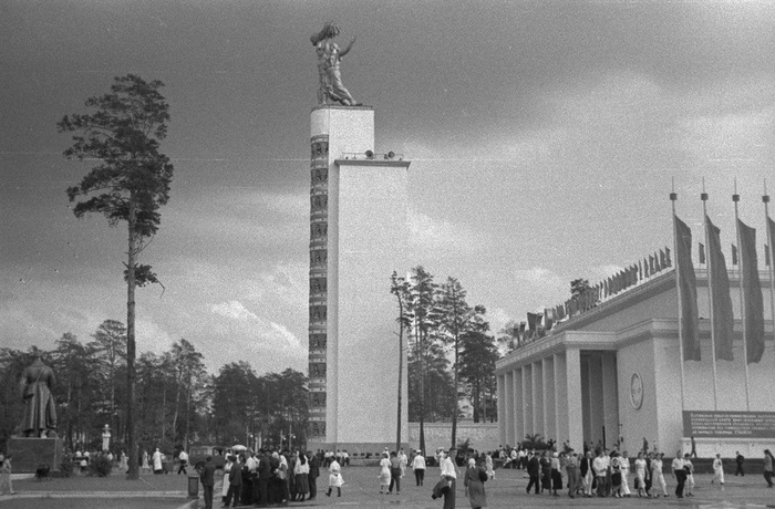 ВДНХ в 30-х. Москва, Вднх, Архитектура, Длиннопост
