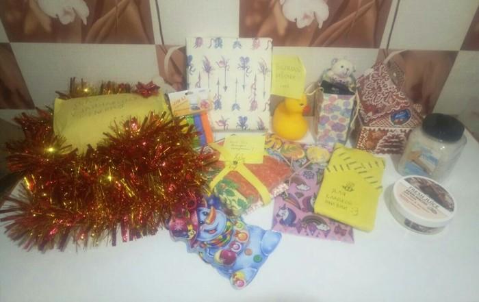 И мне, и мне пришел подарочек  Из Николаева Обмен подарками, Новый Год, Посылка, Длиннопост, Отчет по обмену подарками