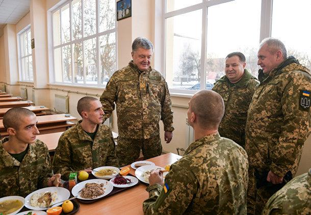 Сразу видно, кого на Украине хорошо кормят