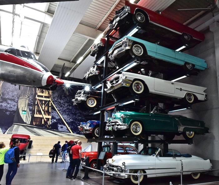 В музее техники. Зинсхайм. Германия.