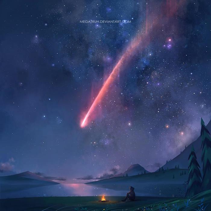 Звёздное небо и космос в картинках - Страница 40 1544458761183521298