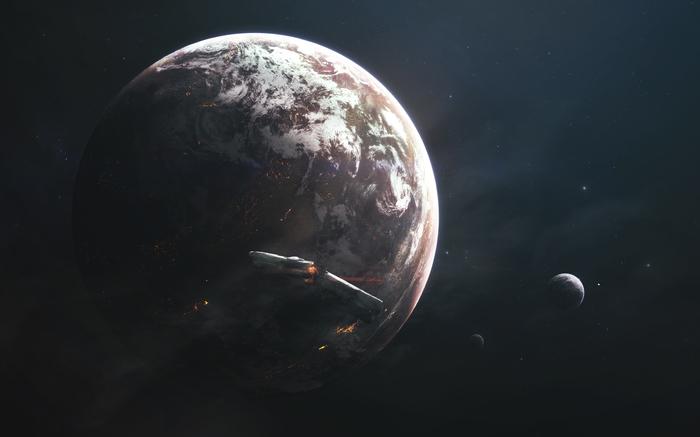 RimWorld RimWorld, Игры, Photoshop, Космос