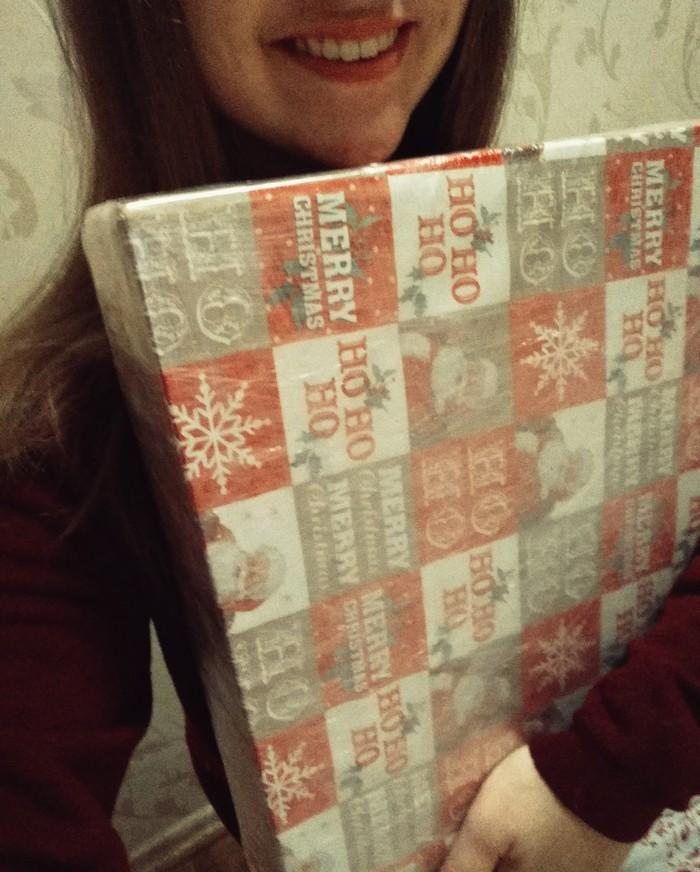 Ура! В полку новогодних посылок прибыло :) Отчет по обмену подарками, Обмен подарками, Длиннопост, Тайный Санта