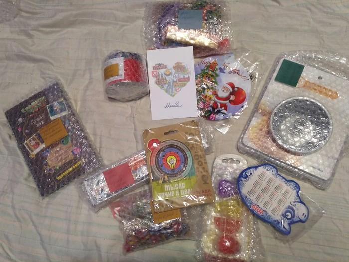 Подарочек из Москвы в Сыктывкар Обмен подарками, Отчет по обмену подарками, Тайный Санта, Длиннопост