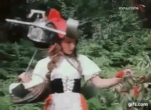 Остров Ржавого генерала Алиса Селезнева, Дрон, Пророчество, Гифка, Остров ржавого генерала