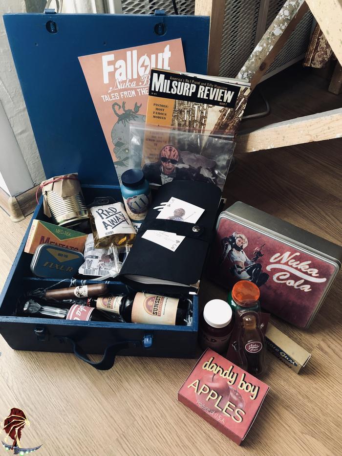 Loot...loot never changes Lorebox, Fallout, Fallout 4, Fallout: New Vegas, Fallout 3, Подарочный набор, Подарок, Длиннопост