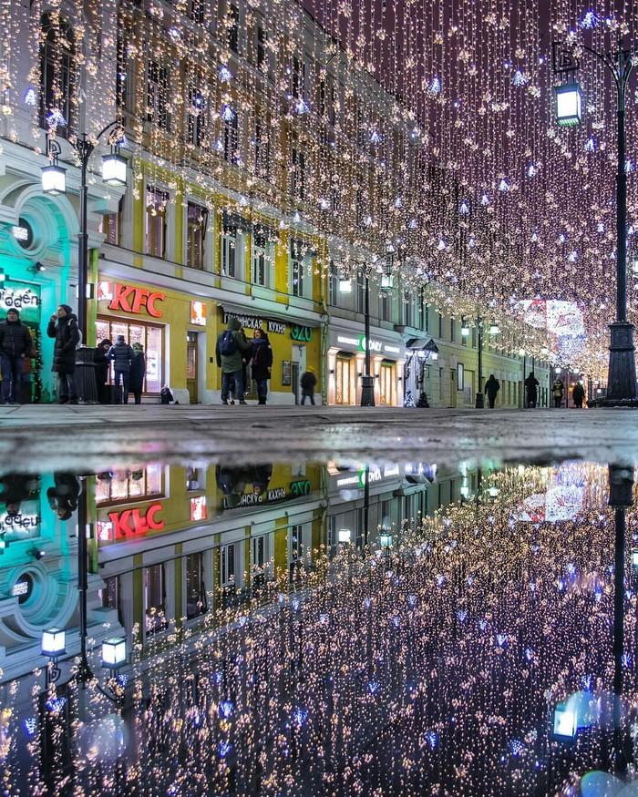 Камергерский переулок, Москва Москва, Россия, Красота, Фотография, Предновогоднее настроение, Улица