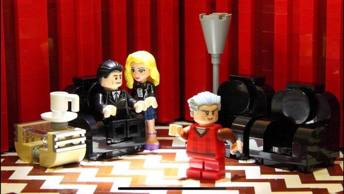 Твин Пикс в LEGO