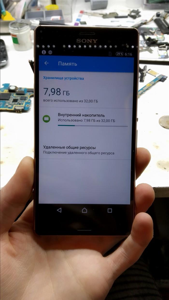 Увеличение внутренней памяти Sony Xperia Z3 до 32Gb! Z3x, Увеличение памяти, 32GB, Sony, Система безопасности, Видео, Длиннопост