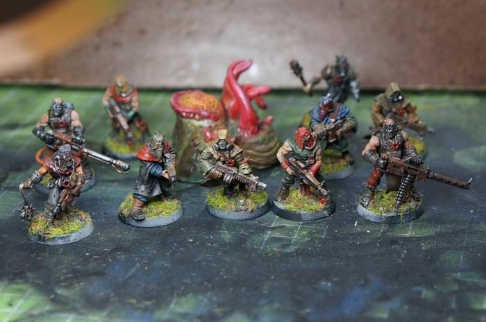Культисты Хаоса Warhammer 40k, Покраска, Покраска миниатюр, Культисты, Chaos Space marines