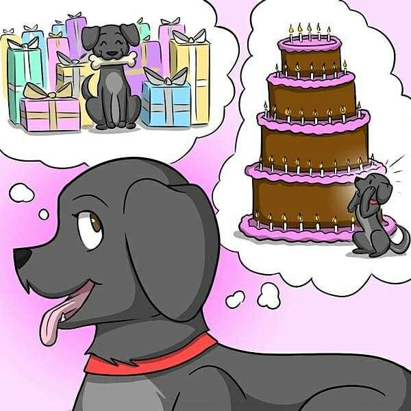 С днем рождения, Милли! Комиксы, Гифка с предысторией, Гифка, Kat Swenski, Длиннопост