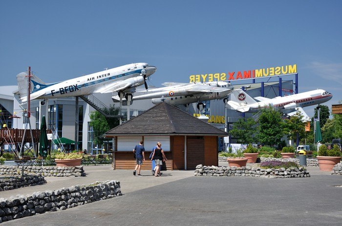 Музеи техники в Шпайере и Зинсхайме (часть 1) Музей, Самолет, Техника, Вертолёт, Длиннопост