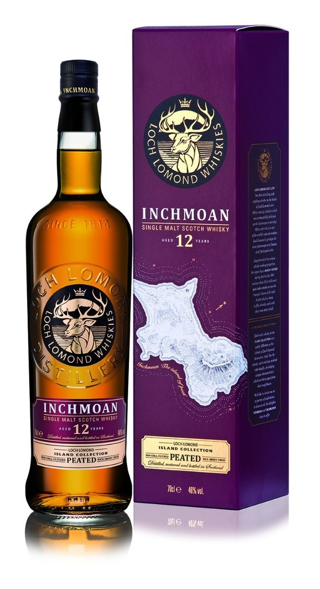 Loch Lomond Inchmoan 12 y.o. Шотландский виски, Виски, Алкоголь, Длиннопост