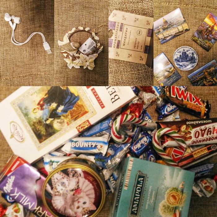 Попаслипательный подарок! Отчет по обмену подарками, Толстаяпопа, Обмен подарками