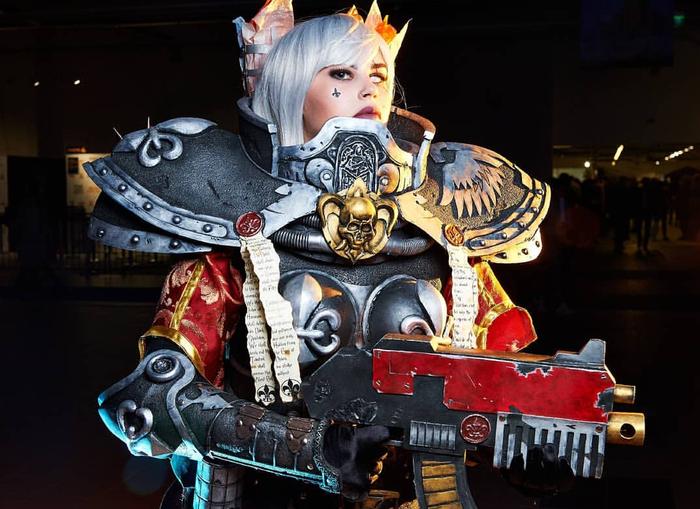 Sister of battle - Warhammer 40k Warhammer, Warhammer 40k, Косплей, Девушки, Крафт, Adepta Sororitas, Длиннопост