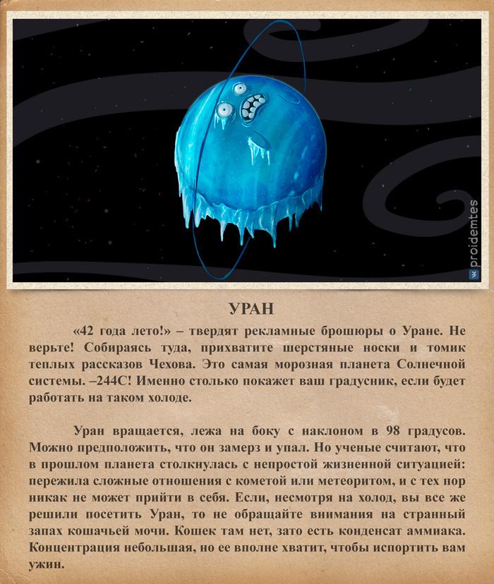 Солнечная система (часть вторая) Proidemtes, Планета, Солнечная система, Астрономия, Длиннопост, Юмор