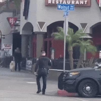 Сильный и независимый дискутирует с полицией