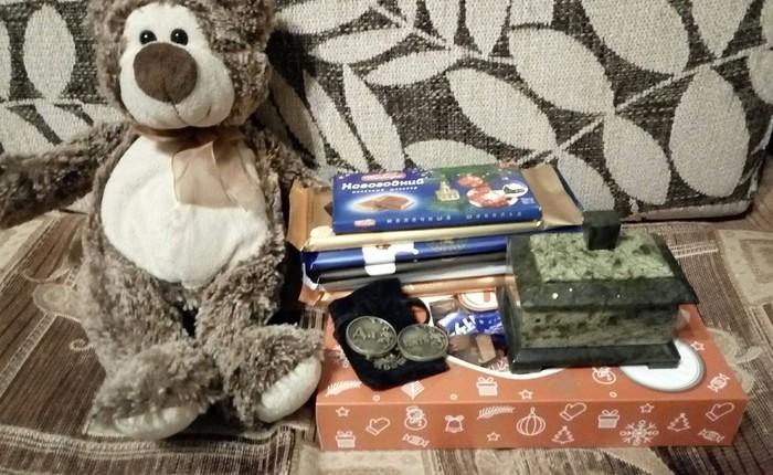 Тайный дед Мороз из Екб. Отчет по обмену подарками, Тайный Санта, Длиннопост