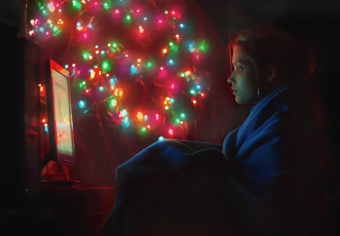 Новый год для одиноких Новый Год, Одиночество, Встреча, Компания, Прогулка, Санкт-Петербург