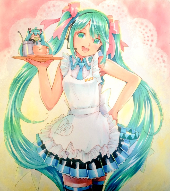 Новые арты от MayoRiyo Аниме, Не аниме, Vocaloid, Hatsune Miku, Anime Art, MayoRiyo, Длиннопост