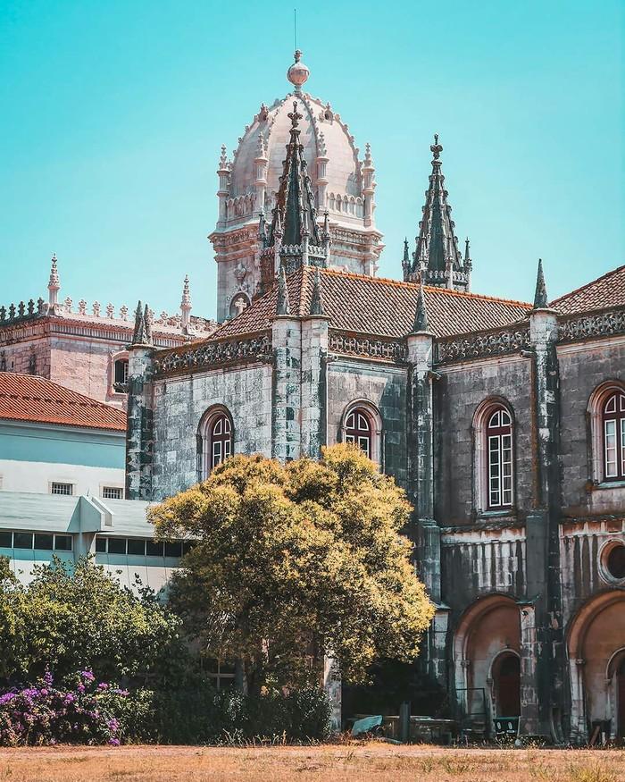 Монастырь в Лиссабоне, Португалия