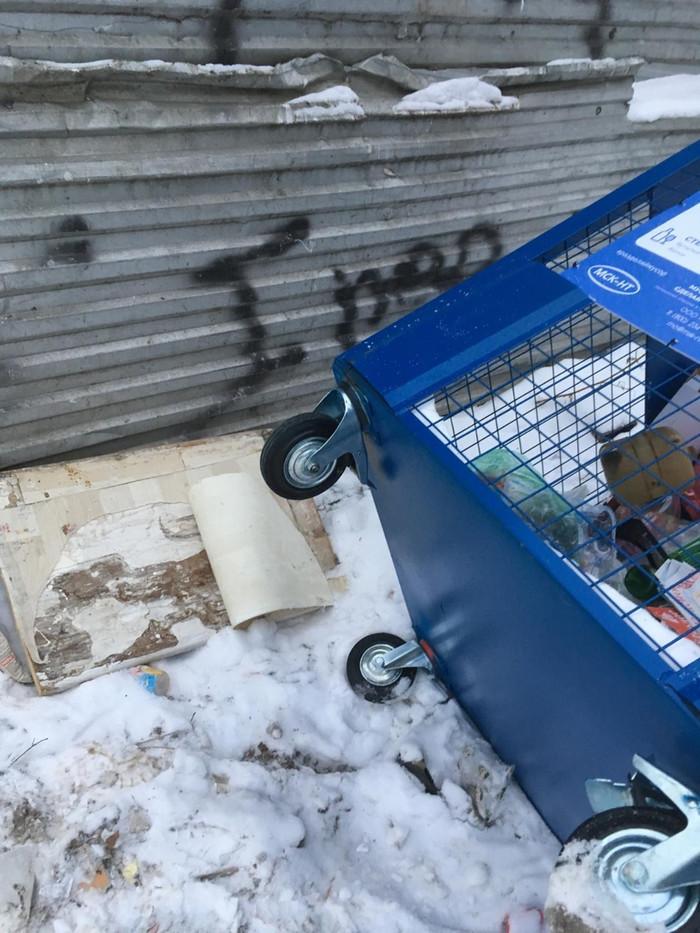 Что можно украсть у мусорного бака? Раздельный сбор мусора, Мусор, Серпухов, Экология, Проблемы общества, Длиннопост