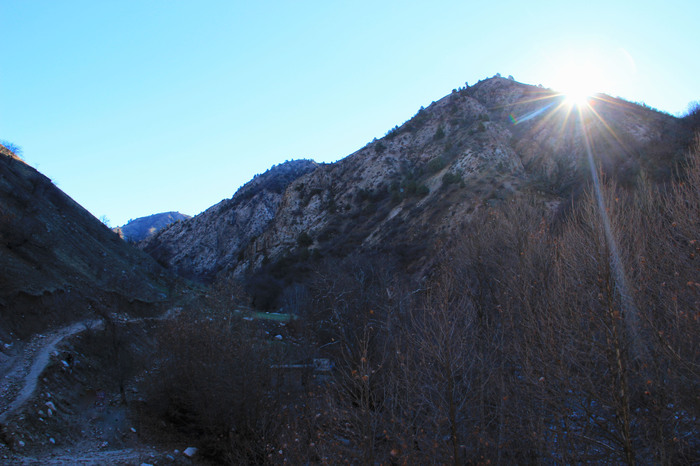 Восход Солнце, Горы, Таджикистан
