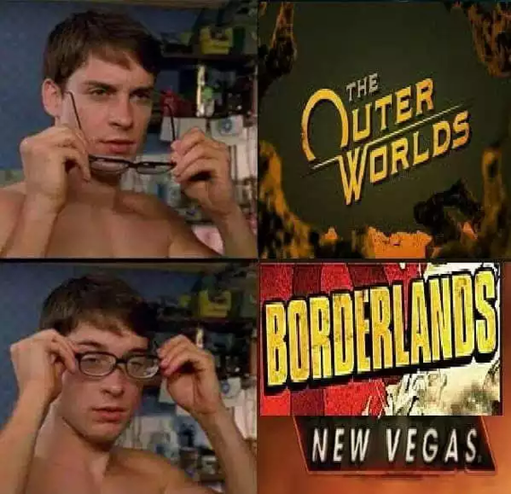 Borderlands New Vegas