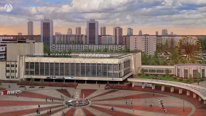 Как могла бы выглядеть Припять, если бы не авария на ЧАЭС Припять, Чернобыль, ЧЗО, Будущее, Мечта, Сравнение