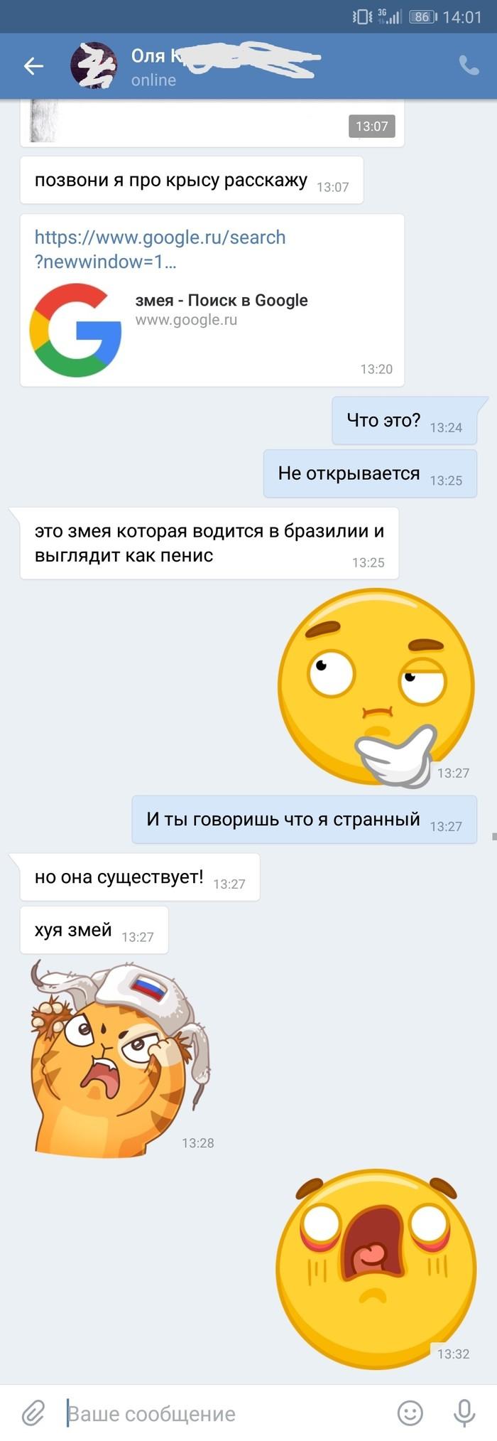 Общение с женой ВКонтакте, Разговор, Жена, Мужчины и женщины, Длиннопост, Переписка