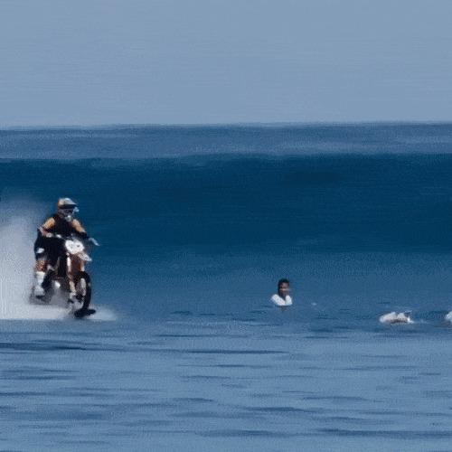 Когда гонки заканчиваются в 6, а в 6:10 тебе надо на серфинг