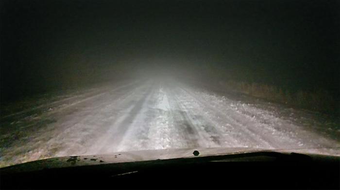 Дорожное приключение в тумане Реальная история из жизни, Длиннопост, Длиннотекст, Гололёд