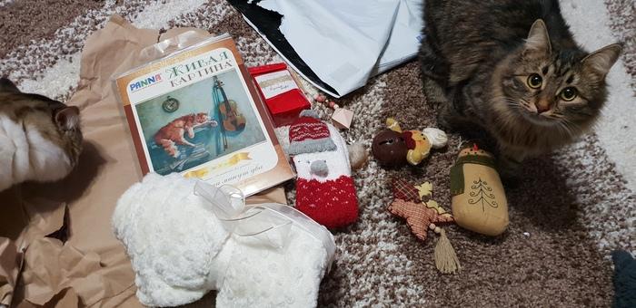 Из Москвы в Москву - от тайного помощника Эльфа) Отчет по обмену подарками, Тайный Санта, Подарок, Длиннопост, Обмен подарками