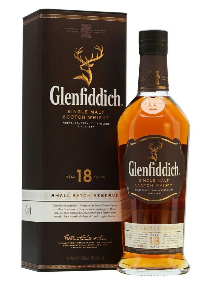 Glenfiddich 18 y.o. Шотландский виски, Виски, Алкоголь