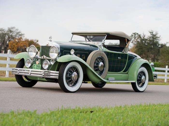 Willys-Knight 66B Roadster by Griswold 1930 года Авто, Willys, Ретро, Длиннопост
